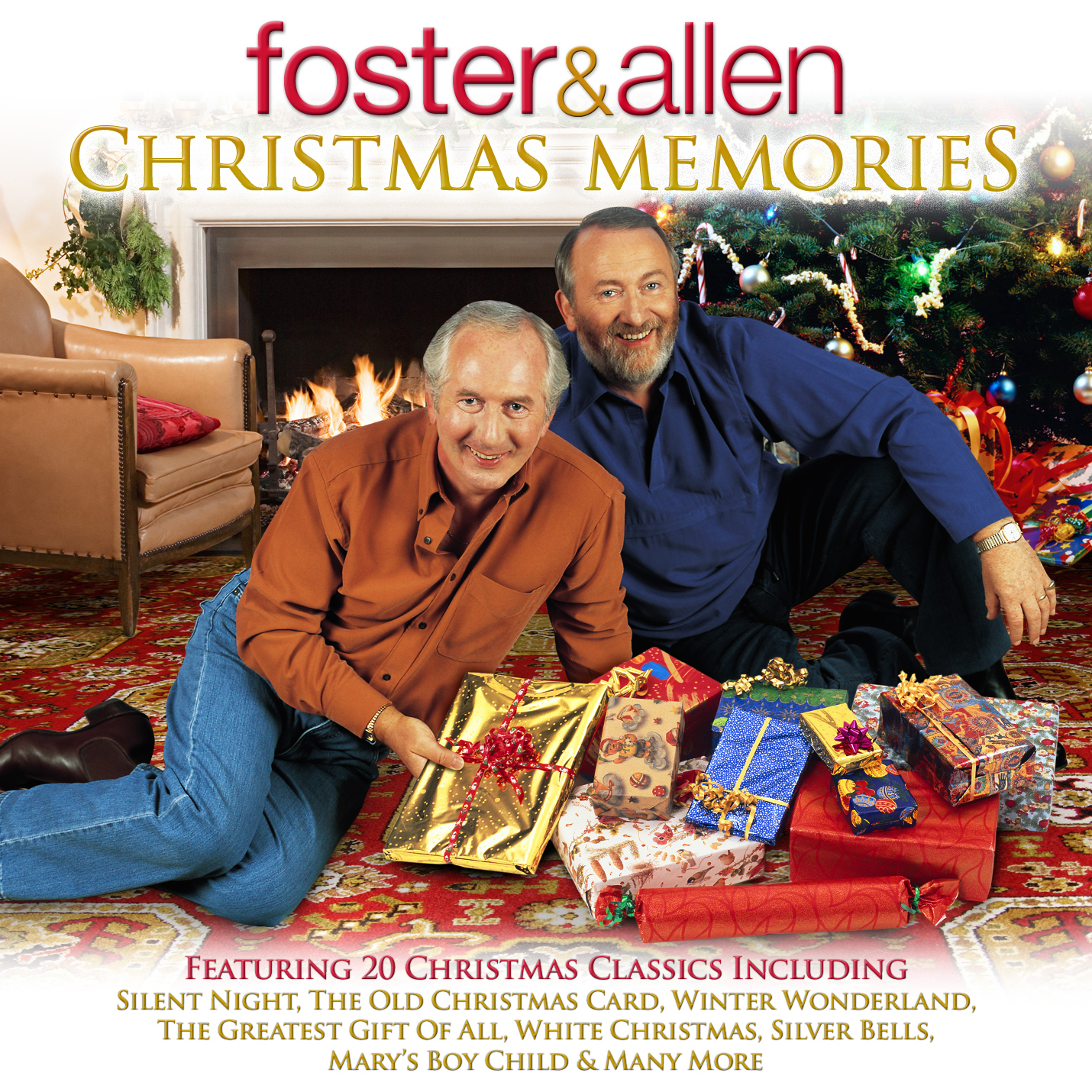 GACD1003 Foster and Allen - Christmas Memories - New World Music