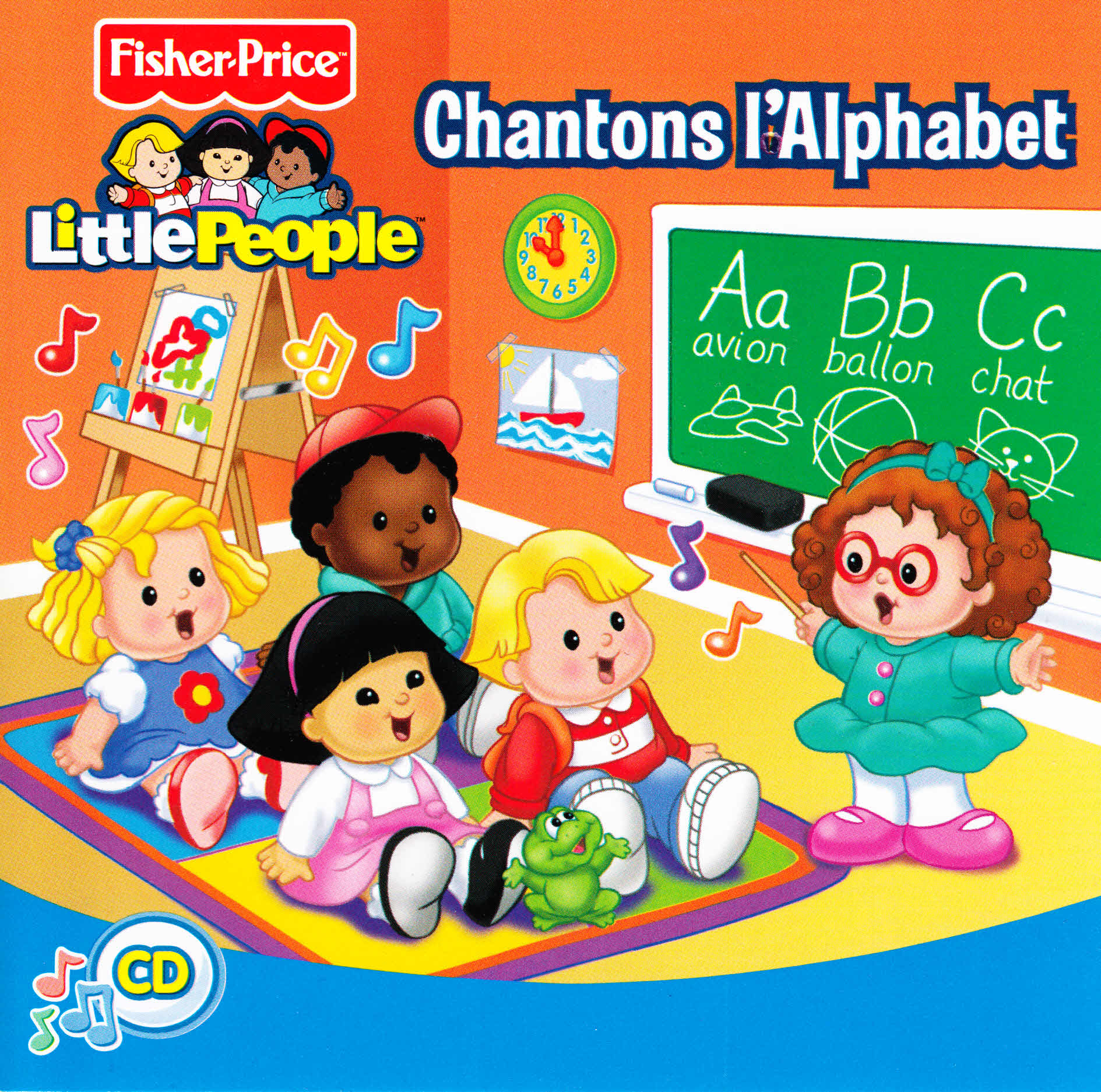 CD51822 Chantons L\'Alphabet (Alphabet Songs - French songs for young ...
